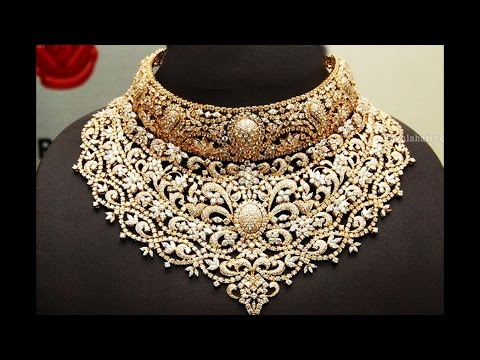Exclusive Gold And Diamond Necklace Designs
