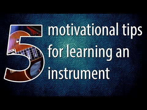 5 SIMPLE Motivational Tips For Piano, Guitar, or Any Instrument!