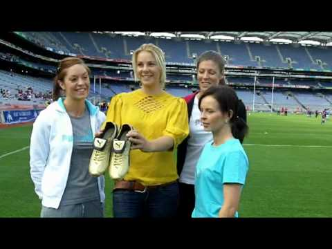 Sunday Independent sports journalist Marie Crowe at Golden Boot Launch
