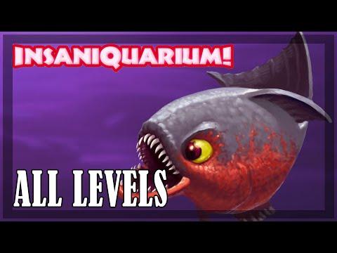 Insaniquarium - All Levels | Full Game