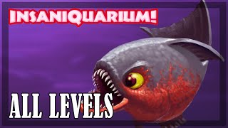 Insaniquarium - All levels | Full game