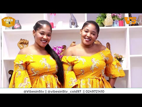 We want to marry and share one man - Beautiful Ghanaian twins confess