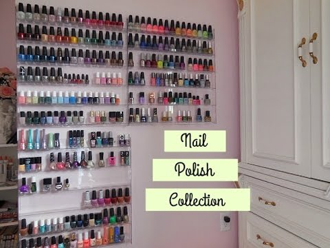 Updated Nail Polish Collection & Storage 2017!! - YouTube