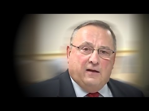 Maine Governor Tells Residents to Shoot Drug Dealers