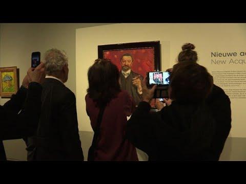 Une oeuvre rare de Munch dévoilée au musée Van Gogh