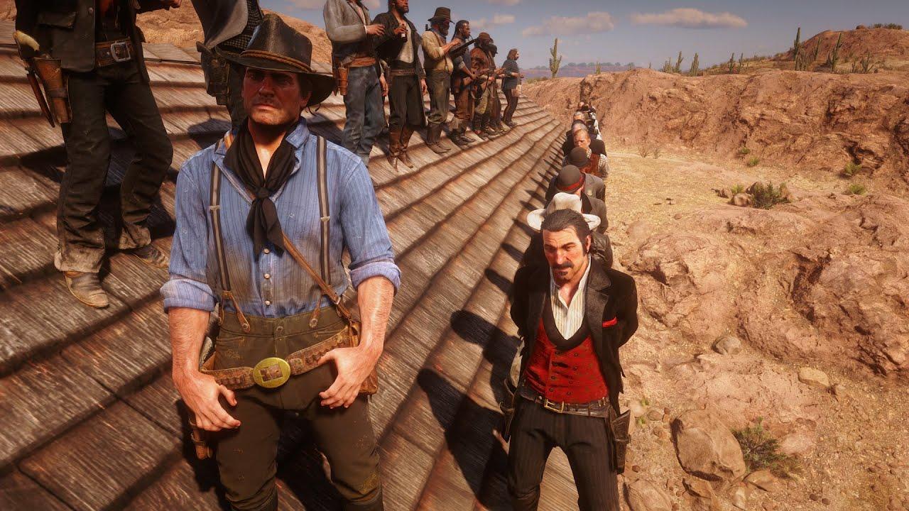Download RDR2 Best Ending Arthur Morgan Hanging All Bad Guys in Red Dead Redemption 2