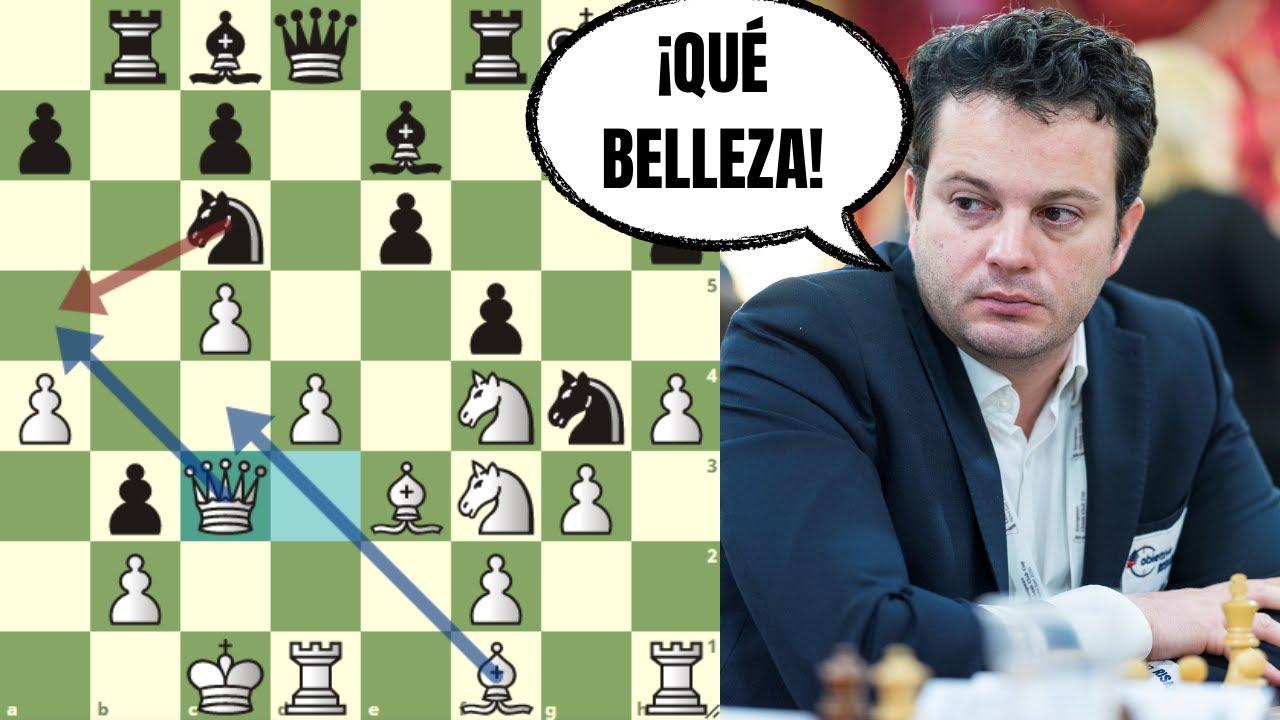 🤯 ¡ALUCINANTE SACRIFICIO DE DAMA!: Bacrot vs Ponkratov (Copa del Mundo FIDE)