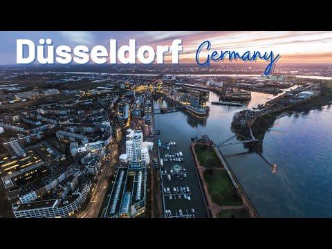 Dusseldorf Germany Tour Ultra HD - Düsseldorf City Germany - Düsseldorf Germany by Drone