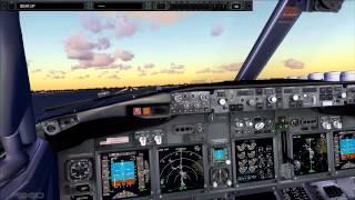 FS2Crew PMDG 737 NGX - Part One (Takeoff)
