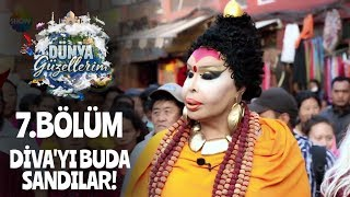 Katmandu'da Bülent Ersoy'u 'Buda' zannettiler!