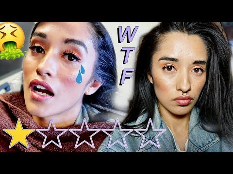 I WENT TO THE WORST REVIEWED MAKEUP ARTIST IN MY CITY *MUST WATCH*