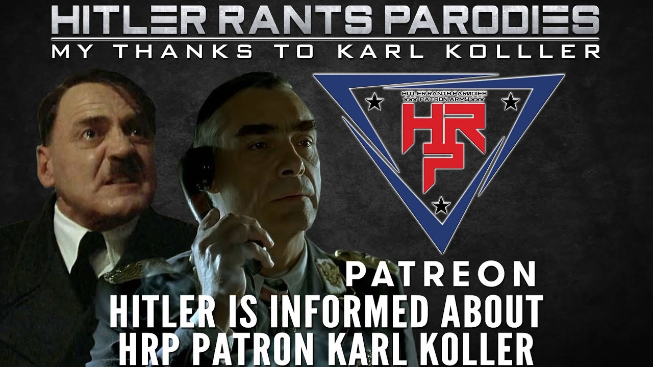 Hitler is informed about HRP Patron: Karl Koller