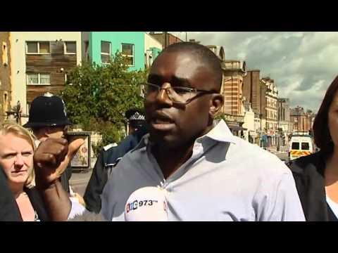 Tottenham MP David Lammy reacts to riots