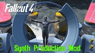 Fallout 4 Mod Showcase: The Synth Production Mod | MAKE YOUR OWN SYNTH