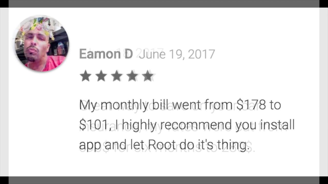 Root Insurance App Reviews