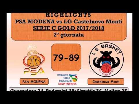 PSA Modena vs LG Castelnovo Monti - 08/10/2017