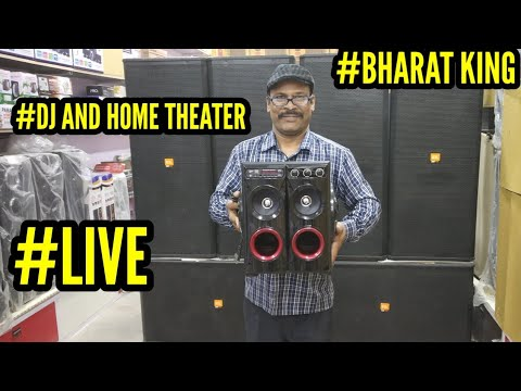 BHARAT ELECTRONICS #LIVE #DJ SYSTEM AND HOME THEATER,***T&C
