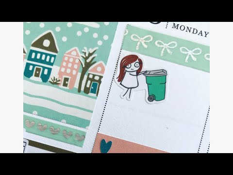 Plan With Me || Erin Condren Life Planner featuring Pumpkin Paper Co and Planner Sister Sticker