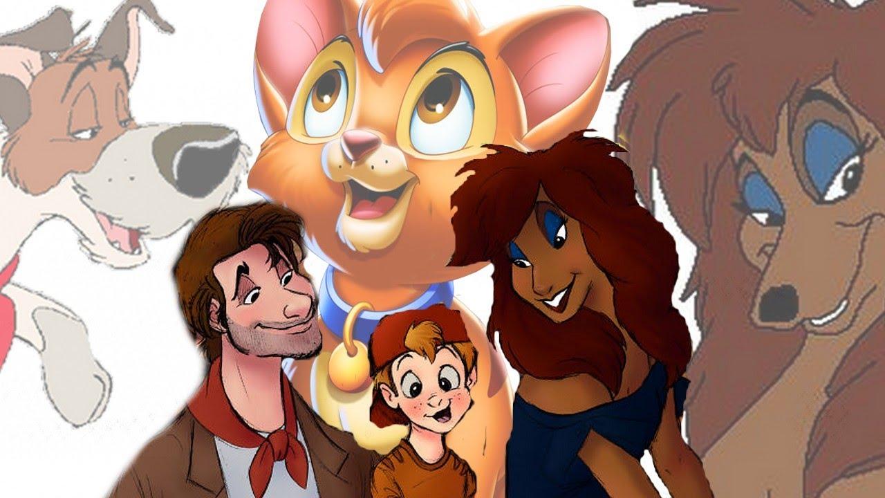 10 personnages de dessins anim s imagin s en humains les - Dessin de personnage disney ...