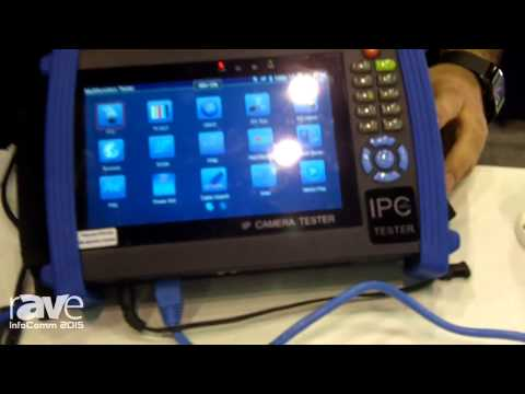 InfoComm 2015: Nace Brands of North American Cable Equipment Shows the IP BuddyPlus Test Meter