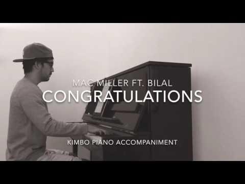 Mac Miller ft. Bilal - Congratulations (Piano Accompaniment/Karaoke/Sing Along + Sheets)
