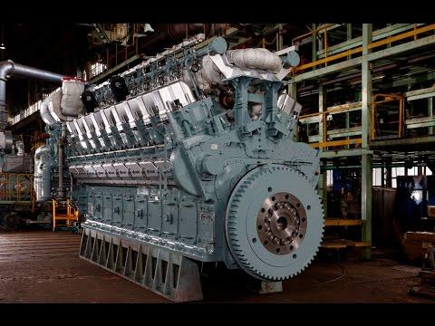 Marine Diesel Engine - Marine Propulsion