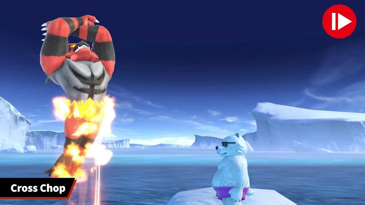 pokemon sun and moon incineroar moveset