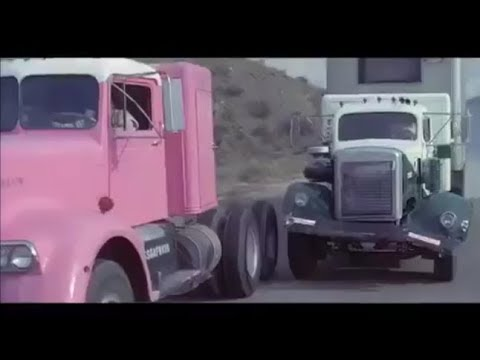 White WC-24 chases Kenworth 524