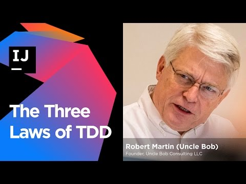 The Three Laws of TDD