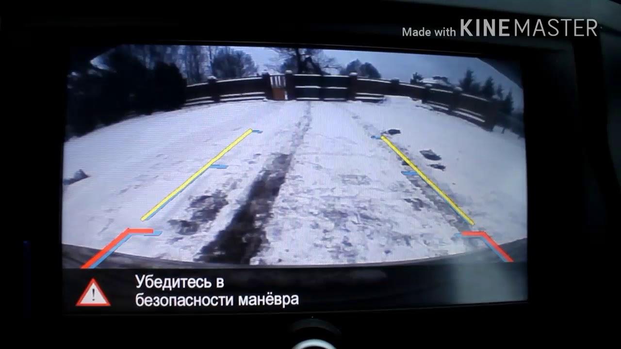 Lada Vesta SW про камеру заднего вида