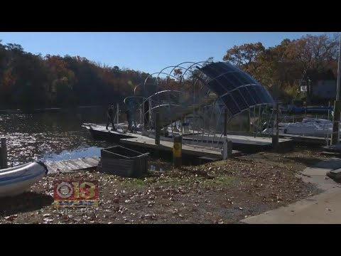 Baltimore's New Trash Collecting Water Wheel Gets It's Name