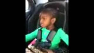 Youmane singing to her favorite senegalese music.. Priceless