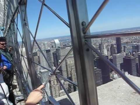 On top of the empire state building observation deck 86th for House plans with observation deck
