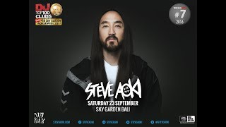 Steve Aoki at Sky Garden Bali this September Don 39 t miss it