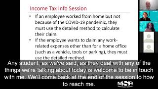 Legal Workshop #4 - Income Tax