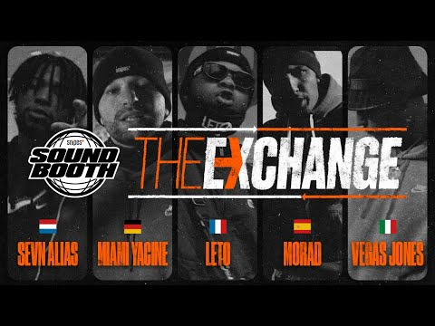 SEVN ALIAS x MIAMI YACINE x LETO x MORAD x VEGAS JONES - THE EXCHANGE // SNIPES Soundbooth Cypher