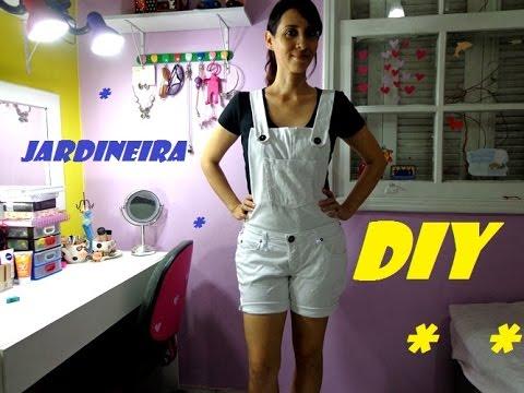Diy como fazer jardineira com cal a youtube for Jardineira jeans feminina c a