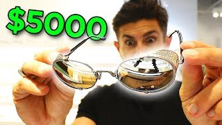 Are They Worth It? Trying on EXPENSIVE Sunglasses (VLOG)