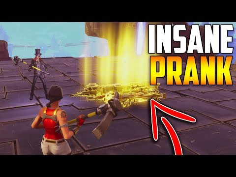 My Friend Scammed His INVENTORY (INSANE PRANK) - Fortnite Save The World