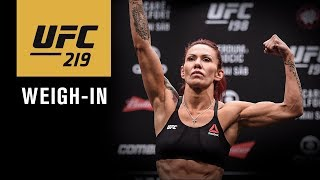 UFC 219: Official Weigh-in Video and Results