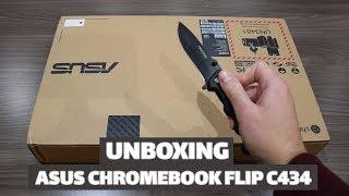 Asus Chromebook Flip C434 : UNBOXING et PREMIERES IMPRESSIONS 2019 - TECH LIVE (TechLiveFR)