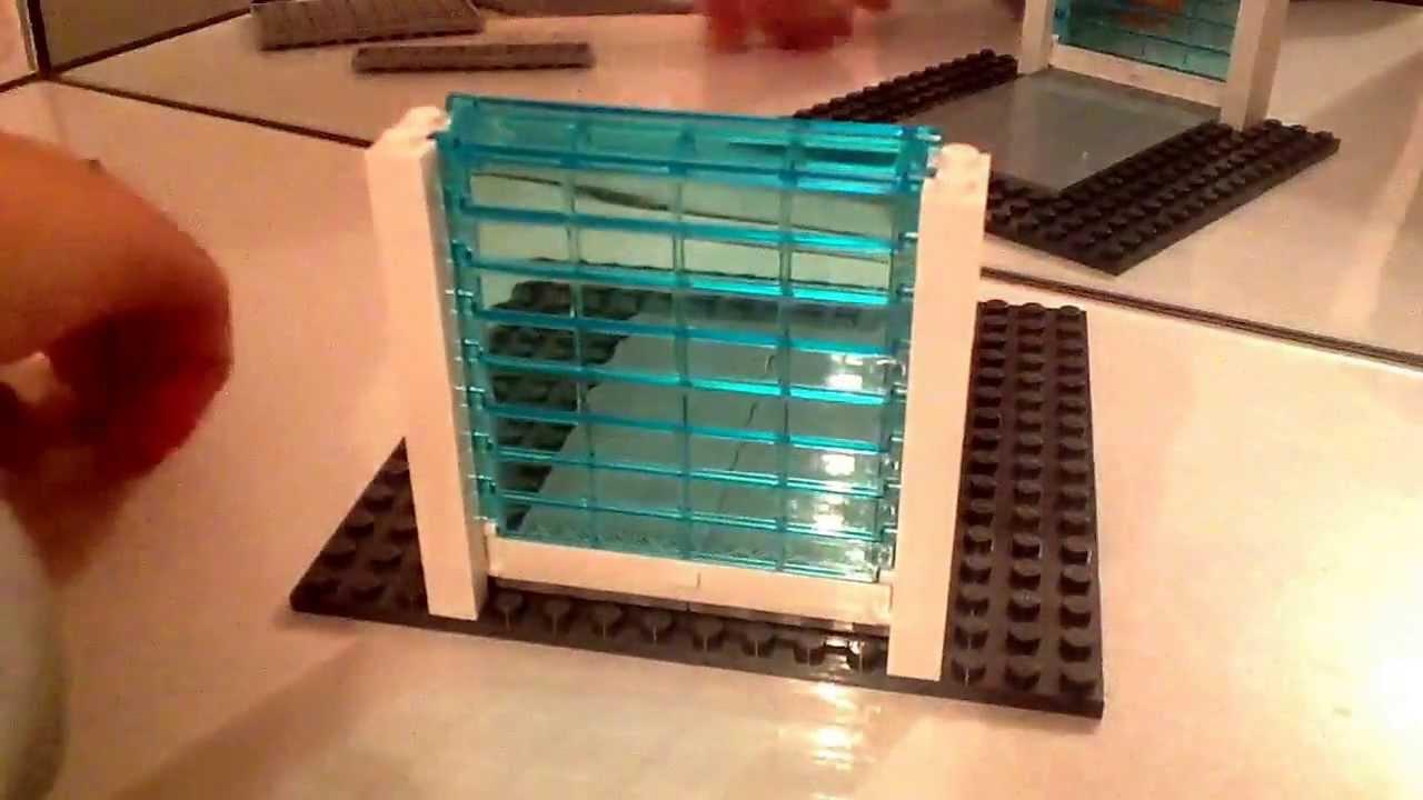 Лего своими руками гараж
