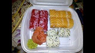 Домашний ВЛОГ: Утро/ Пеку хлеб,готовлю обед/Интересная находка/Погода/Вкуснючие Суши.