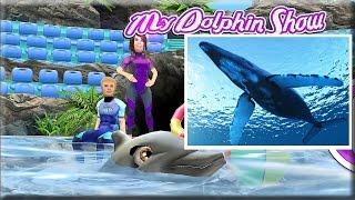 Развивающий мультик игра про дельфина [2] Факты о дельфинах для детей