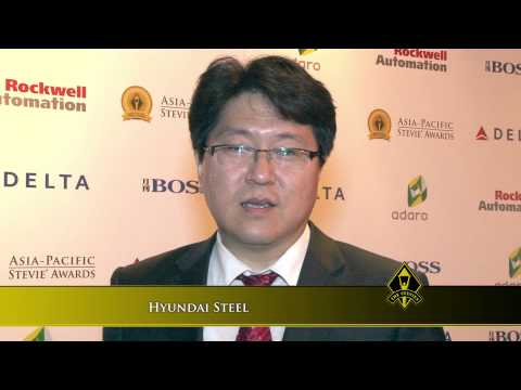 Hyundai Steel wins at the 2014 Asia-Pacific Stevie Awards