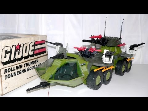 1988 Rolling Thunder (and Armadillo) G.I. Joe review