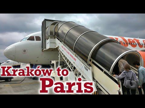 Full Flight: EasyJet A320 Kraków to Paris (KRK-CDG)
