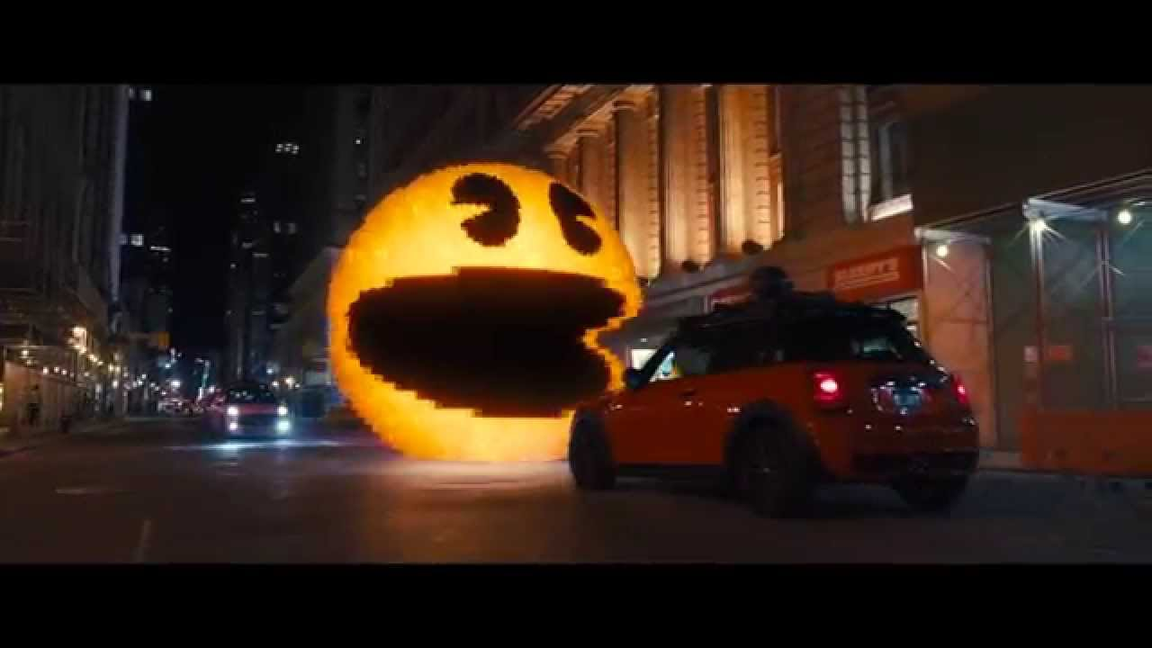 pixels film clip i ll stay with big yellow youtube