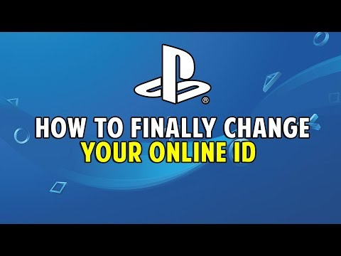 HOW TO FINALLY CHANGE PSN ONLINE ID (PS4 & WEB BROWSER)
