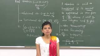 MATHS-IX-1-03 Irrational number, By Swati Mishra, Pradeep Kshetrapal channel